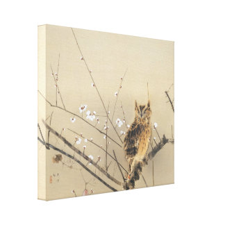 Early Plum Blossoms by Nishimura Goun Gallery Wrap Canvas