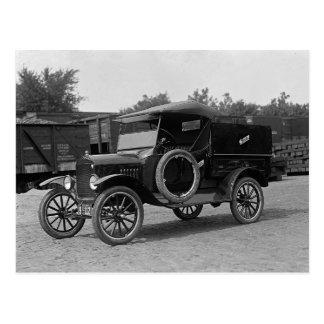 Early Rental Truck, 1925 Postcard