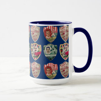 Early Rugby Players - Ringer Mug