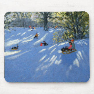 Early snow Darley Park Derby Mouse Pad