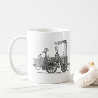 Early Steam Locomotive Coffee Mug