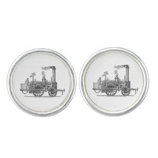 Early Steam Locomotive Cufflinks