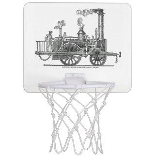 Early Steam Locomotive Mini Basketball Hoop