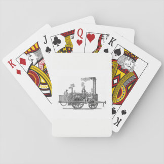 Early Steam Locomotive Playing Cards