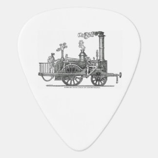 Early Steam Train Locomotive Guitar Pick