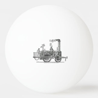 Early Steam Train Locomotive Ping Pong Ball
