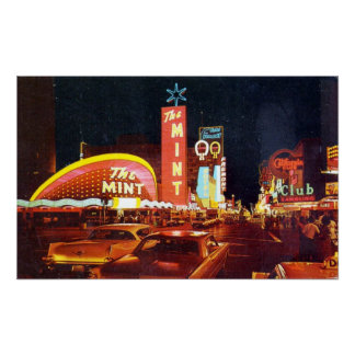 Early Years Of Fremont Street Poster