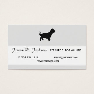 Earned Adulation Coolest Pet Professional Design Business Card
