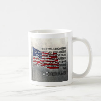 Earned Gratitude Veterans Day Mug