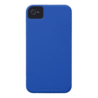 Earnestly Stately Blue Color iPhone 4 Cover