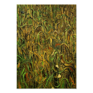 Ears of Wheat Van Gogh Fine Art Poster