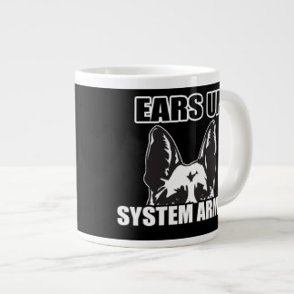 Ears Up System Armed Coffee Mug