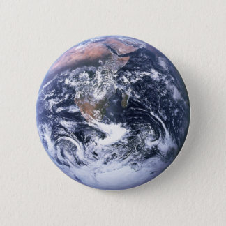 Earth 2 Inch Round Button