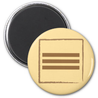 Earth 2 Inch Round Magnet
