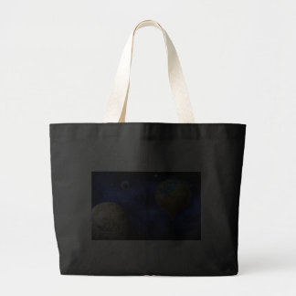 earth-366722  earth global warming climate emissio canvas bags