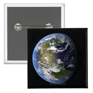 Earth 7 2 inch square button