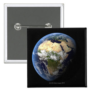 Earth 8 pinback button