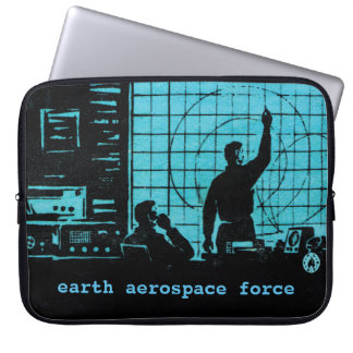 Earth Aerospace Force: Control room Computer Sleeves