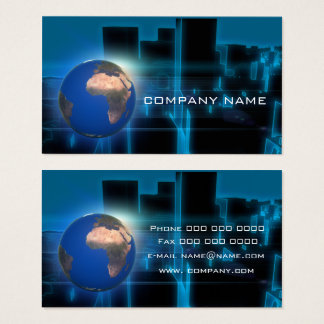 Earth africa business card