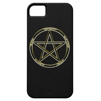 Earth, Air and Fire Pentagram iPhone 5 Case