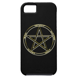 Earth, Air and Fire Pentagram iPhone 5 Covers