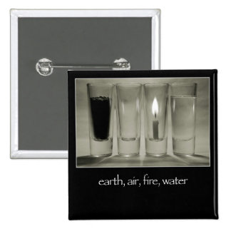 earth, air, fire, water buttons