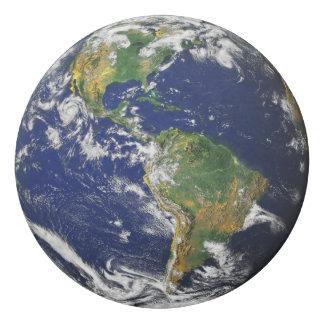 Earth America Africa Eraser