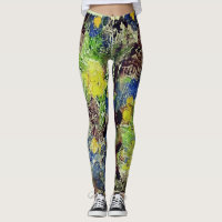 Earth and Flowers leggings