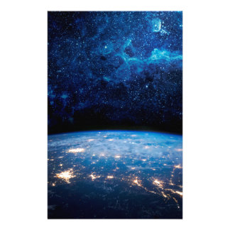Earth and Galaxy Stationery