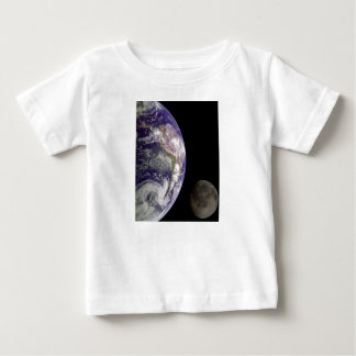 Earth and Moon by Galileo Kids Clothes Baby T-Shirt