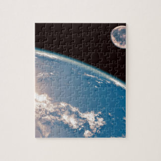Earth and Moon Jigsaw Puzzle