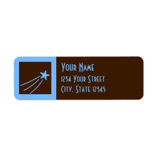 Earth and Sky Return Address Label