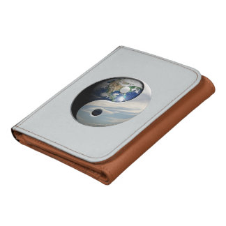 Earth and Sky Yin Yang Leather Wallets
