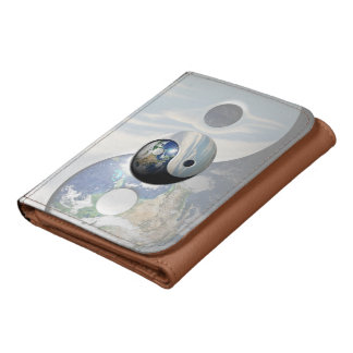 Earth and Sky Yin Yang Wallet