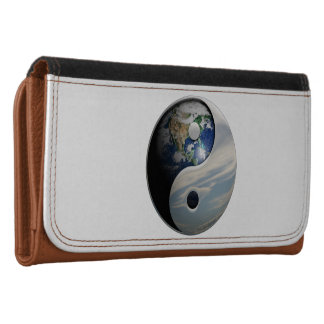Earth and Sky Yin Yang Wallets For Women