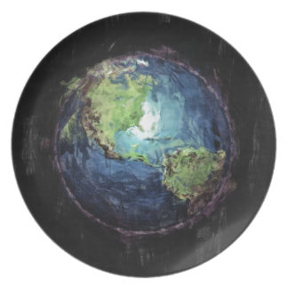 Earth And Space Plate