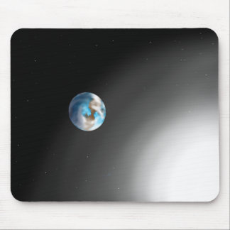 """Earth and Sun"" Mouse Pad"