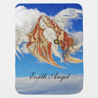 Earth Angel Baby Blankets