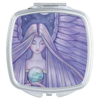 Earth Angel Fantasy Art Makeup Mirror