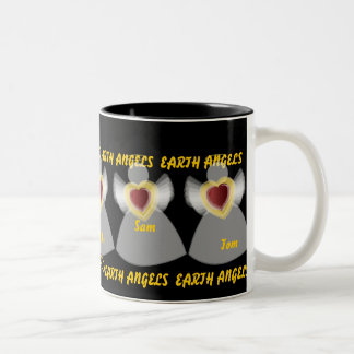 Earth Angel's mug-Customize Two-Tone Coffee Mug