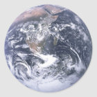 Earth - Apollo 17 Photo Classic Round Sticker