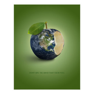 Earth As An Apple - poster
