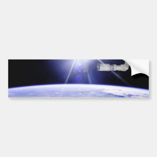 Earth as Seen from the Space Station Car Bumper Sticker