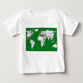 Earth atlas green shirt
