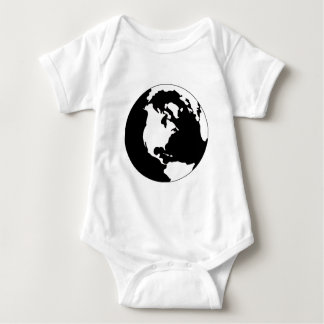 Earth - Black and White T Shirts