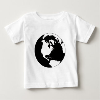 Earth - Black and White T-shirts