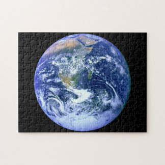 Earth Blue Marble Puzzle