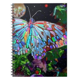 Earth Bound Creatures Spiral Notebook