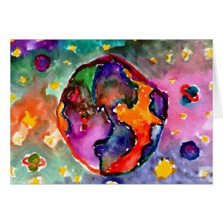 Earth by Alicia Hanson, Age 10 Card