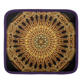 Earth Crystal Mandala iPad Sleeves